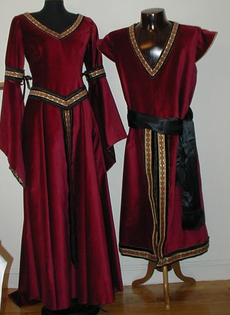 Patterns: Renaissance Costumes, Meval Clothing