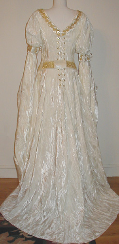 Velvet Accolade Gown: Renaissance Wedding Dress