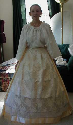 Renaissance Elizabethan Tudor Celtic Period Gowns Wedding Dresses Cloaks Capes
