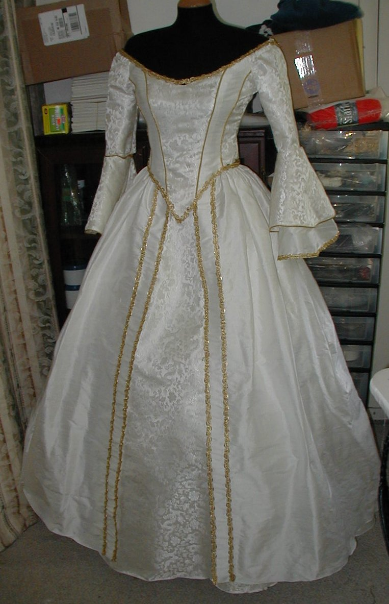 French Renaissance Wedding Gown